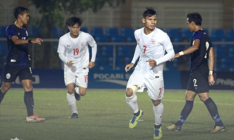 U22 Myanmar, SEA Games 30, Lwin Moe Aung, Philippines, Malaysia