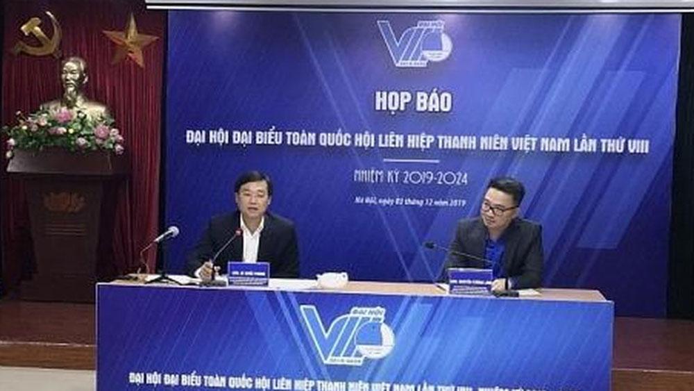 Đại hội VIII Hội Liên hiệp Thanh niên Việt Nam, diễn ra, từ ngày 10 đến 12-12 tại Hà Nội