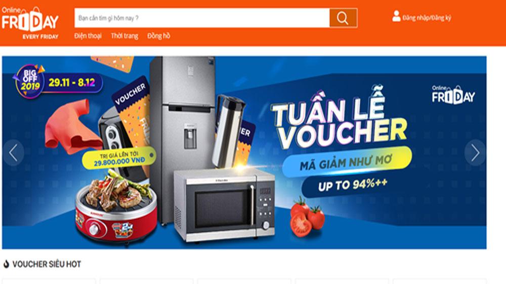 Vietnam E-Pavilion, e-commerce platforms, Digital Economy Department, Vietnamese products,  stationery products