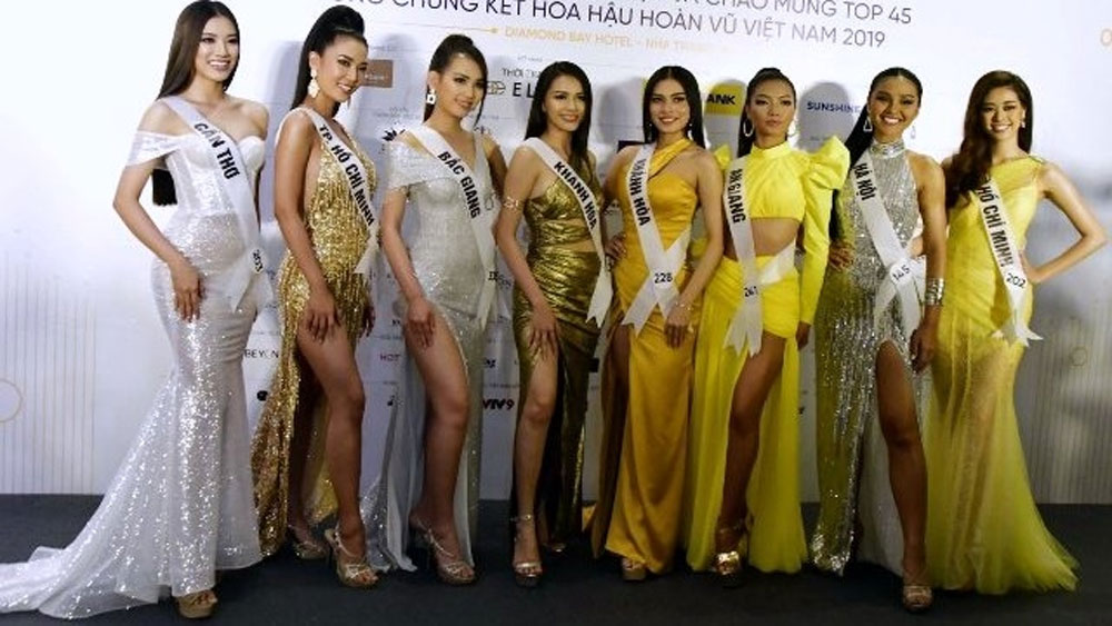 Miss Universe Vietnam, semi-final round, beauty pageant,  Khanh Hoa province, National Tourism Year 2019, Colours of the Sea