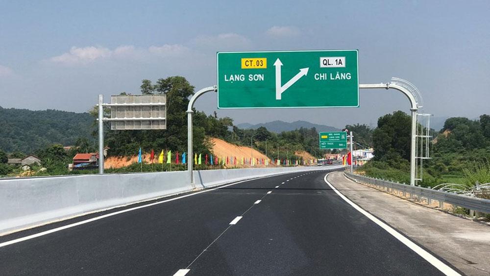 Cao tốc Bắc Giang - Lạng Sơn , miễn phí, các loại xe