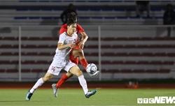 U22 Việt Nam-U22 Singapore vòng bảng SEA Games 30 (hiệp 1): Tỷ số chưa được mở