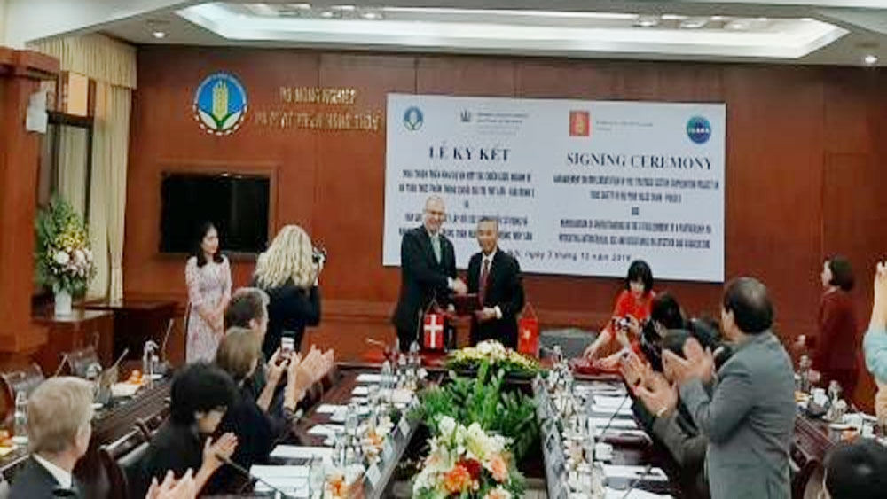 Denmark, Vietnam, managing food safety, cooperation agreement, memorandum of understanding, Vietnam-Denmark cooperation