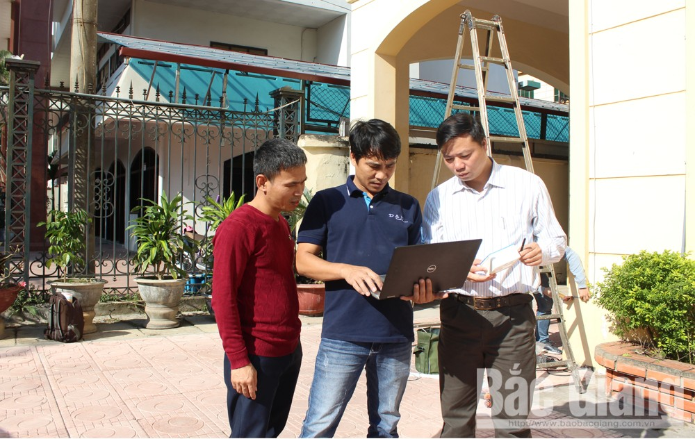 Bắc Giang, Thư viện tỉnh Bắc Giang, Đo chỉ số chất lượng không khí, PAM Air, D&L