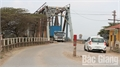 Phân luồng giao thông phục vụ thi công cầu Cẩm Lý
