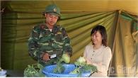 Nhân dân ủng hộ nhiều lương thực, thực phẩm cho lực lượng tham gia diễn tập khu vực phòng thủ tỉnh