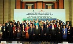 Hơn 530 đại biểu dự Hội nghị Phát triển toàn diện trẻ thơ châu Á - Thái Bình Dương