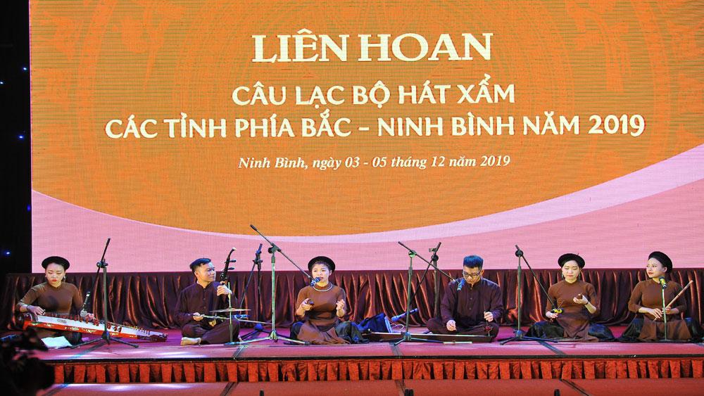Ninh Bình, Vinh danh, 45 nghệ sĩ, Liên hoan hát Xẩm khu vực phía Bắc - Ninh Bình 2019