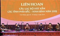 Vinh danh 45 nghệ sĩ tại Liên hoan hát Xẩm khu vực phía Bắc - Ninh Bình 2019
