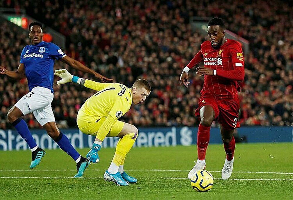 Liverpool, Everton, Mane, Ngoại hạng Anh