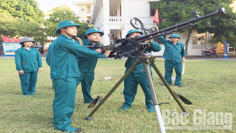 Diễn tập khu vực phòng thủ, Đại tá Dương Văn Đoàn, Phó Chỉ huy trưởng- Tham mưu trưởng Bộ CHQS tỉnh Bắc Giang, Bắc Giang