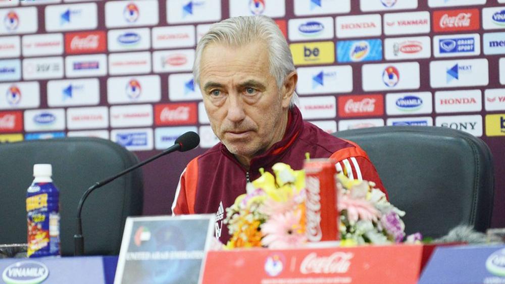 Bert van Marwijk, Bert van Marwijk bị sa thải, HLV Bert van Marwijk, UAE bại tướng của HLV Park Hang Seo