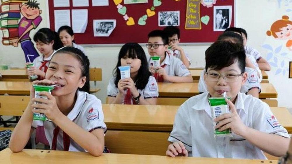 Bộ Y tế, quy định, vi chất dinh dưỡng, các sản phẩm Sữa học đường