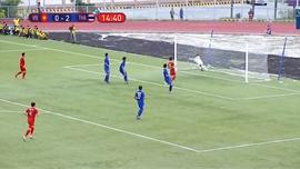 Clip: Tiến Linh ghi bàn thắng quý giá cho U22 Việt Nam