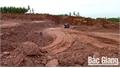 Lạng Giang: Xử phạt cá nhân khai thác đất trái phép tại xã Dương Đức 45 triệu đồng