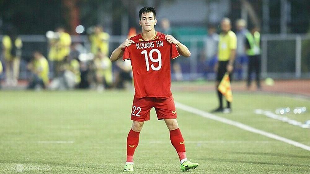 Quang Hải, chung kết SEA Games 30