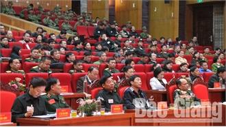 Khai mạc diễn tập khu vực phòng thủ tỉnh Bắc Giang năm 2019