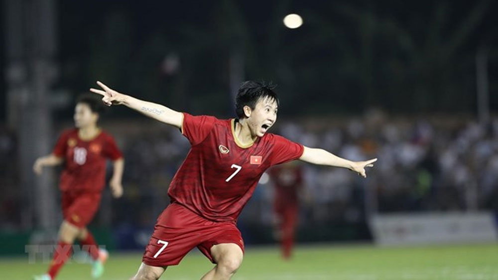 Vietnam women enter SEA Games football's final with win over Philippines