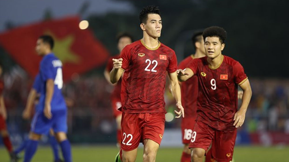 30th SEA Games, Vietnam, Thailand, semifinal berth, Vietnam's U22, men's football,  remarkable comeback draw