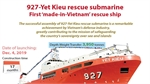 Vietnam sucessfully builds 927-Yet Kieu rescue submarine