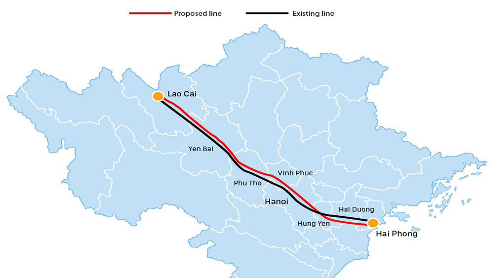Vietnam mulls new rail link to Chinese border