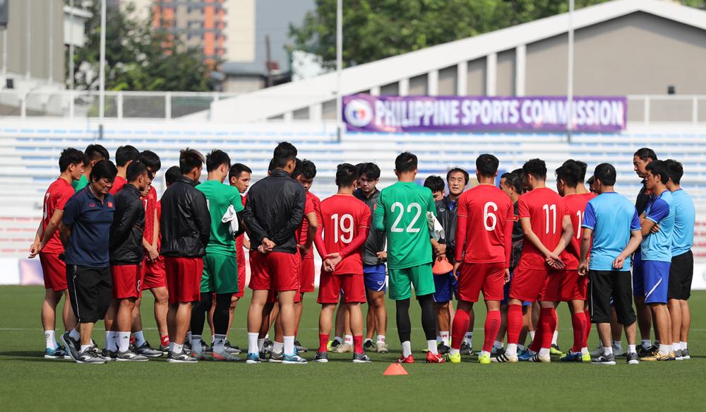 Park Hang-seo, Thủ môn Bùi Tiến Dũng, SEA Games 2019