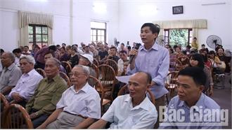 Báo cáo tổng hợp kết quả giải quyết kiến nghị của cử tri trình tại kỳ họp thứ 9, HĐND tỉnh Bắc Giang khóa XVIII