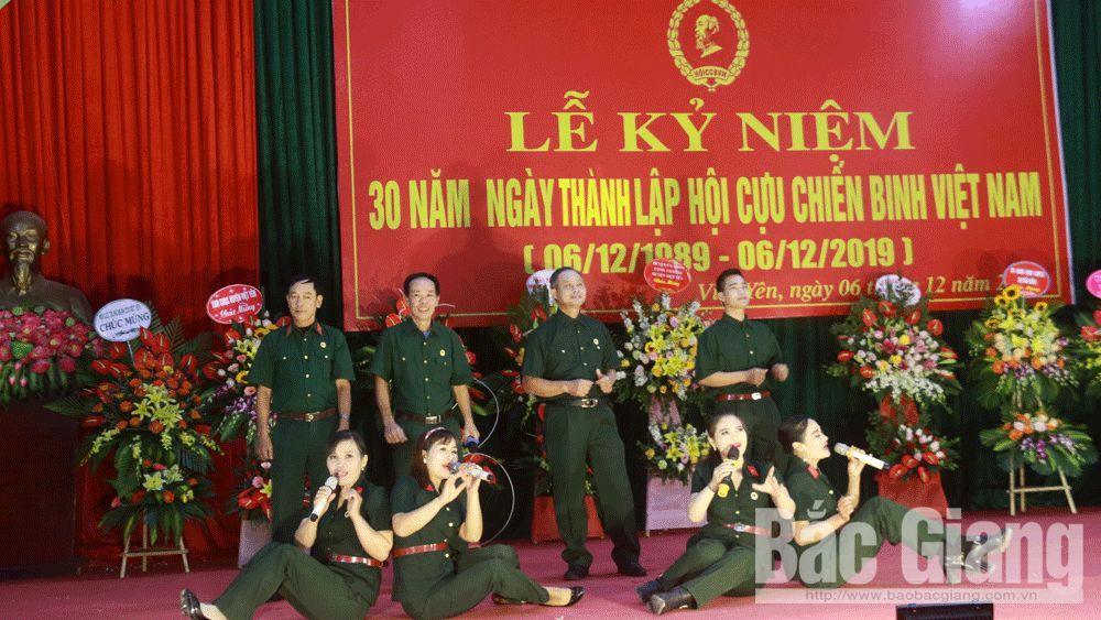 Việt Yên: Kỷ niệm 30 năm Ngày thành lập Hội cựu chiến binh Việt Nam
