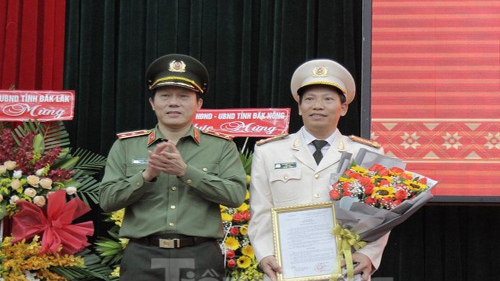 Giám đốc Công an tỉnh Đắk Nông làm Giám đốc Công an tỉnh Đắk Lắk