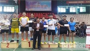 Giải Cầu lông học sinh tỉnh Bắc Giang 2019: Trao 23 bộ giải cho VĐV đạt thành tích cao