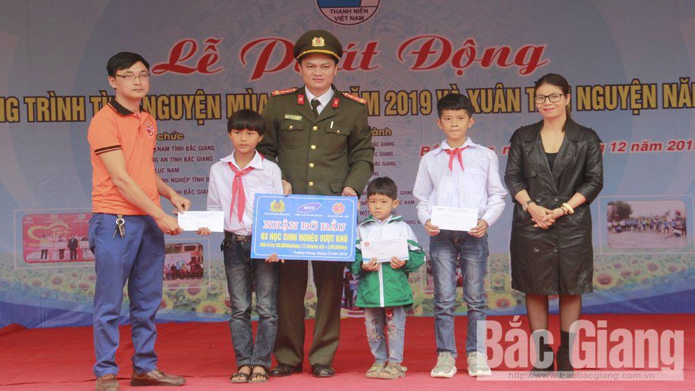 thanh niên tình nguyện, Thành đoàn Bắc Giang, phong trào tình nguyện, Bắc Giang