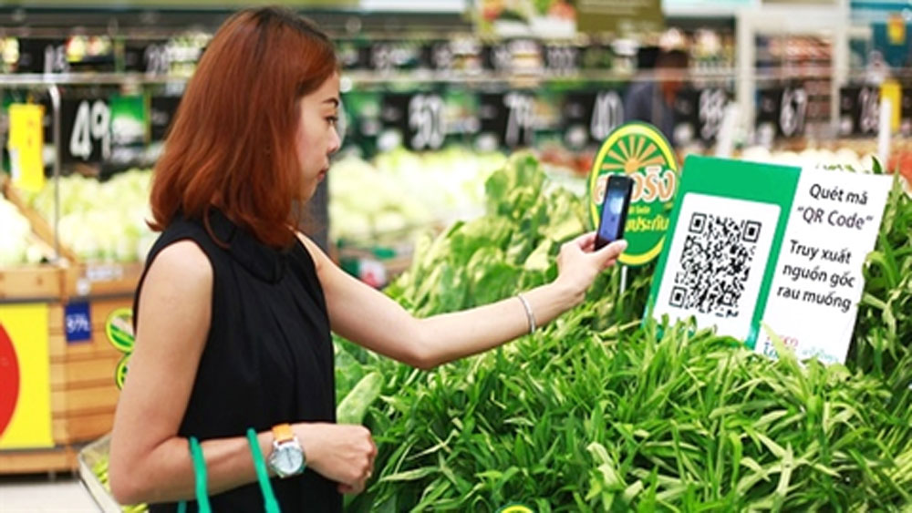 agricultural products, traceability codes, administrative account codes, QR codes, traceability system,  information transparently