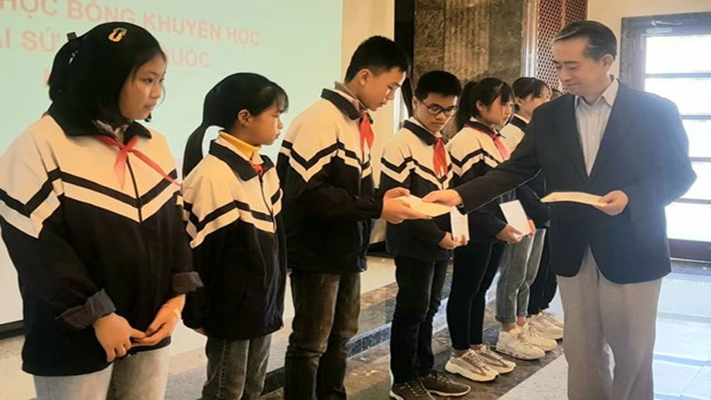 Chinese Embassy grants scholarships to students
