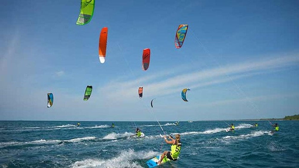 Ninh Thuan province, international kite surfing festival, most beautiful beaches,  diverse experience tourism