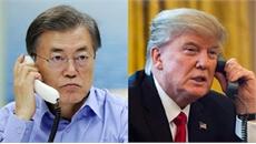 Tổng thống Hàn Quốc và Mỹ điện đàm về tình hình bán đảo Triều Tiên