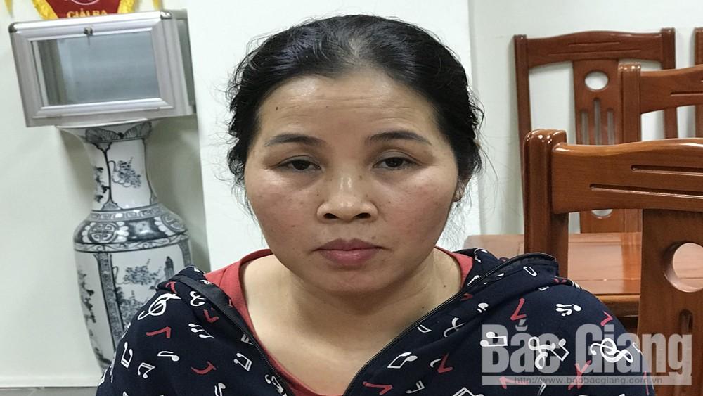 Đối tượng trốn truy nã Nguyễn Thị Hiền.