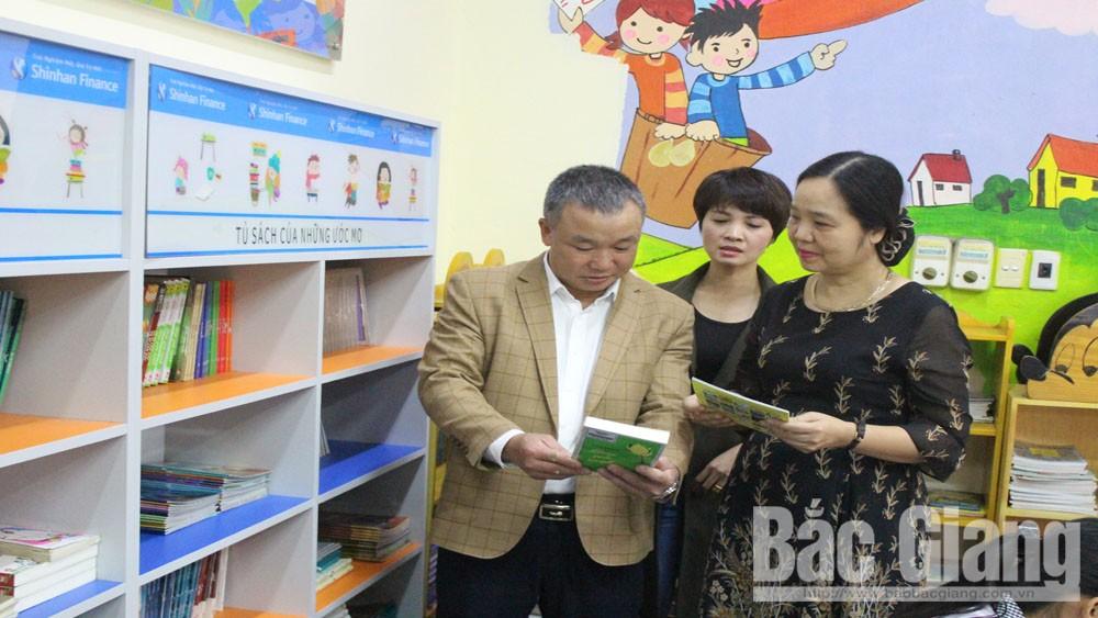 Vụ Thư viện, Đề án, phát triển văn hóa đọc, thư viện Bắc Giang, bạn đọc