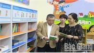 Vụ Thư viện làm việc về Đề án phát triển văn hóa đọc tại Bắc Giang