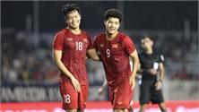 Video diễn biến chính trận Việt Nam thắng Campuchia 4-0