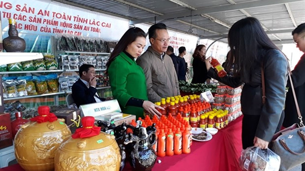 Capital gets to taste Lao Cai province's local specialties