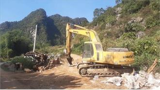 Yên Bái: Một người tử vong do đá lăn trúng tại mỏ khai thác đá