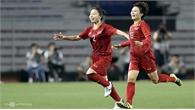 Clip: Đội tuyển nữ Việt Nam vươn lên dẫn 1-0 trước nữ Thái Lan
