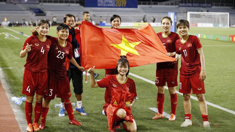 Bóng trúng xà ngang, đội tuyển bóng đá nữ Việt Nam SEA Games 30