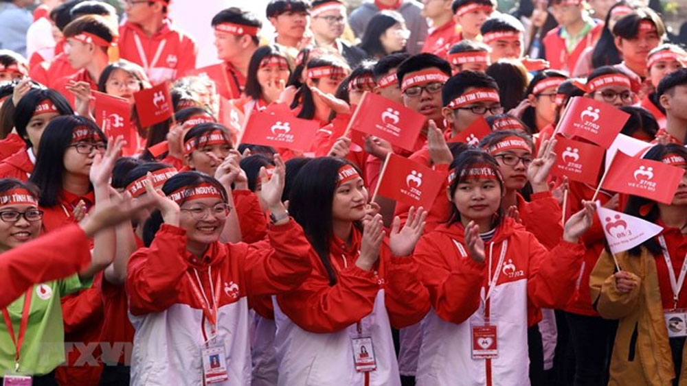 National volunteer day 2019, Hanoi, International Volunteer Day, volunteering movements, socio-economic development, blood donation event