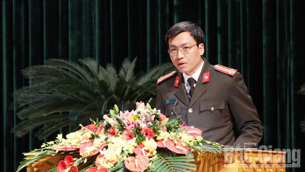 Xử lý, sử dụng ma túy, nhà nghỉ, karaoke, HĐND tỉnh Bắc Giang, kỳ họp thứ 9, Giám đốc Công an tỉnh Bắc Giang