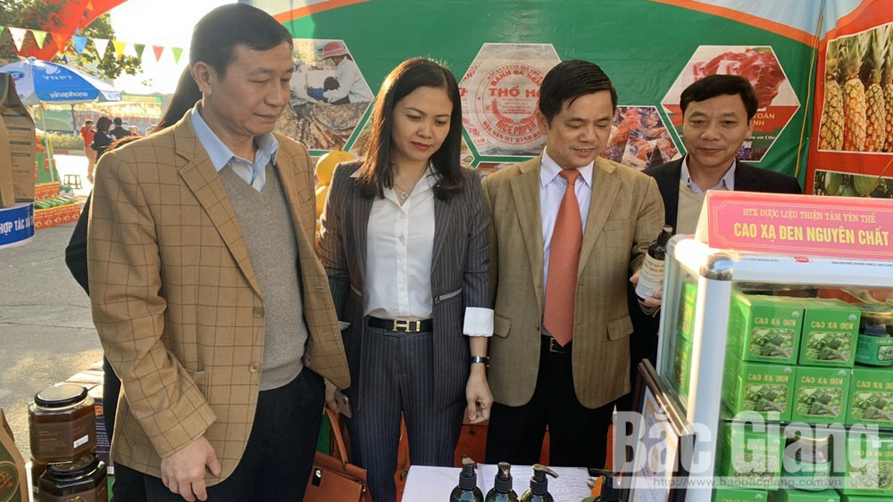 Bac Giang: 27 outstanding products of cooperatives join product exhibition and introduction week