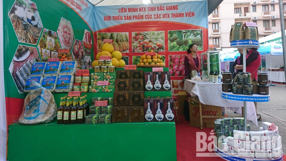 Bac Giang province, 27 outstanding products, product exhibition and introduction week, Thai Nguyen province, potentials and advantages