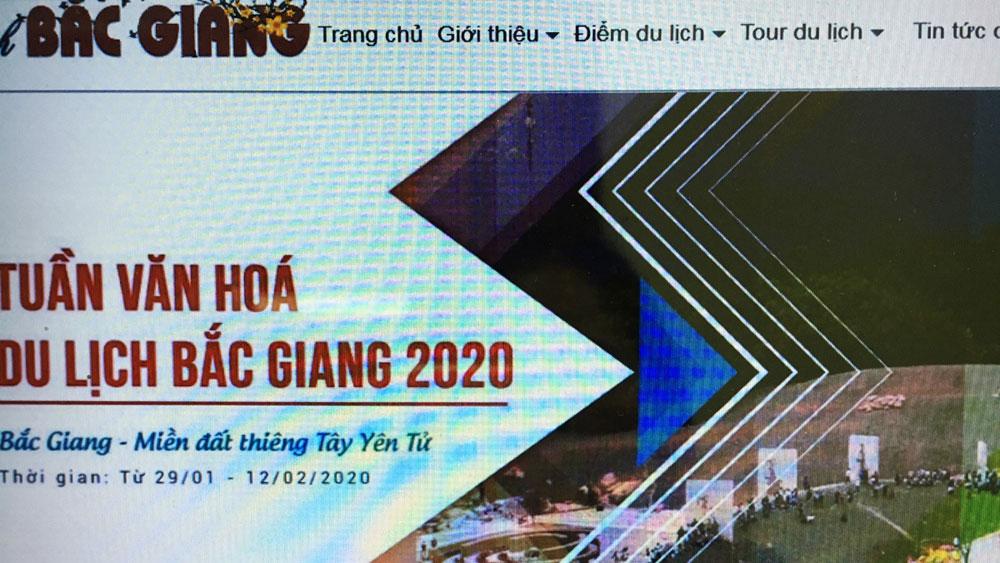 Bac Giang province, smart tourism portal, IT application, competitive capacity,  smart tourism ecosystem, digital information system