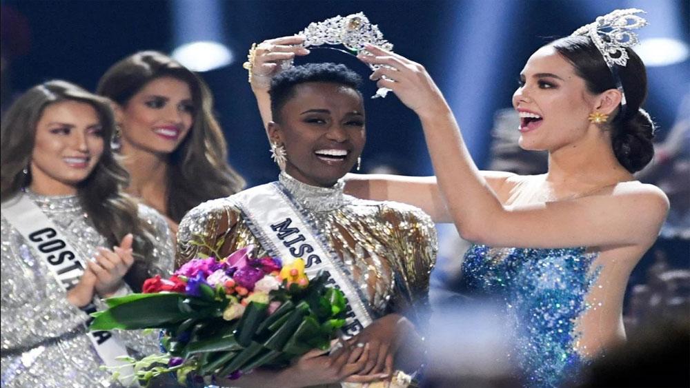 Nam Phi, đăng quang Miss Universe 2019, Hoàng Thuỳ, dừng chân top 20, Zozibini Tunzi