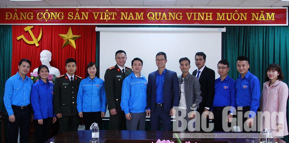 Bắc Giang, Đại hội Đại biểu Hội LHTN Việt Nam, thanh niên Bắc Giang, thanh niên Việt Nam